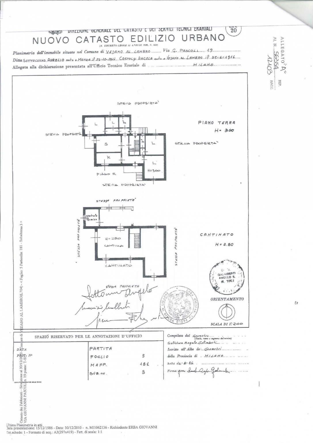 Foto 20 - Villa in Vendita - Vedano al Lambro (Monza e Brianza)