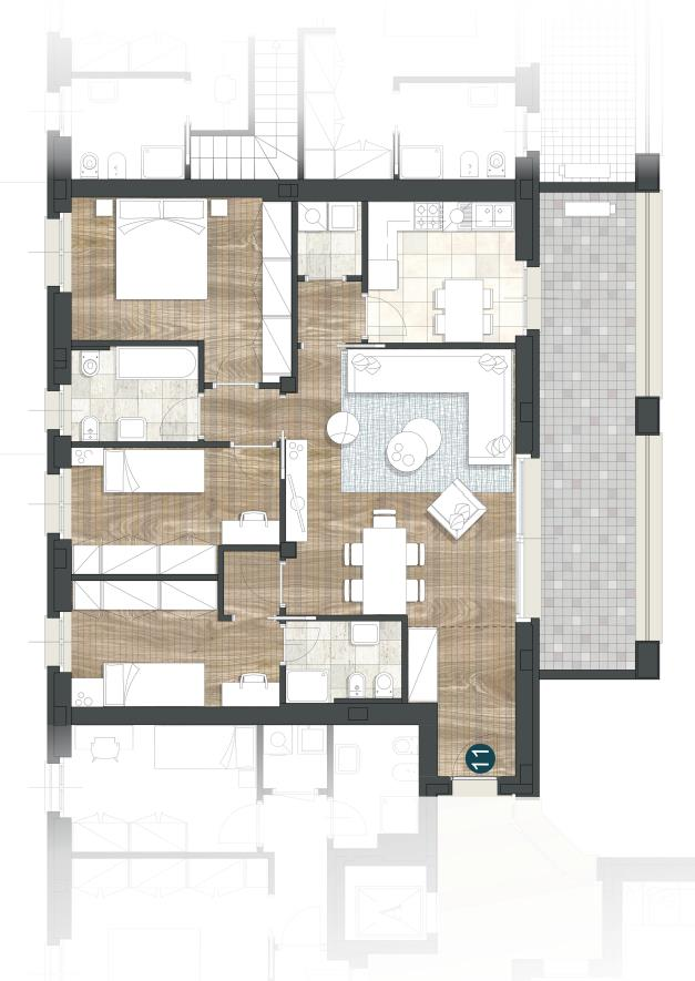 Foto 13 - Appartamento in Vendita - Monza, Zona Regina Pacis